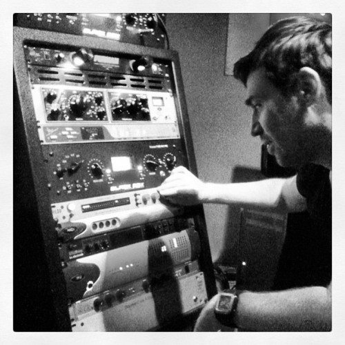 In the studio with Photek